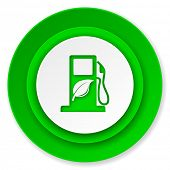 biofuel icon, bio fuel sign