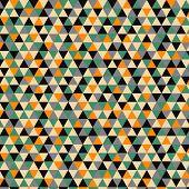 Mosaic vector pattern