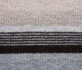 Woolen texture.