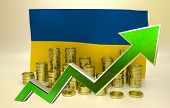 currency appreciation - Ukrainian hryvnia