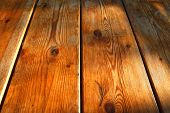 high resolution background texture of natural light brown wooden table