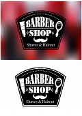 Barber Shop signs