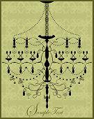 Vintage Invitation Card With Elegant Design