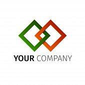 Abstract Diamond Logo