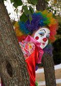 Silly Halloween Clown