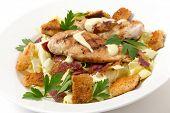 image of italian parsley  - Chicken caesar salad - JPG