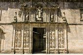 stock photo of por  - Santiago de Compostela and his cathedral are the reputed burial - JPG