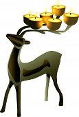 Deer Shaped Candelabra