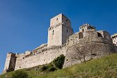 Castle, Assisi, Umbria