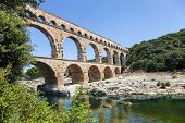 stock photo of masterpiece  - The Roman architects and hydraulic engineers who designed this bridge created a technical as well as an artistic masterpiece - JPG