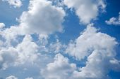 Sky & Cloud view, environment in Thailand