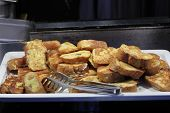 Tray With French Toast