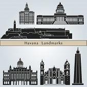 Havana Landmarks And Monuments