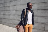 stock photo of handsome  - Street fashion concept  - JPG