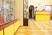stock photo of reception-area  - Reception area at the beauty salon - JPG