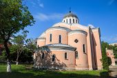 stock photo of holy  - Cathedral temple of Holy Apostles town of Vratsa Bulgaria - JPG