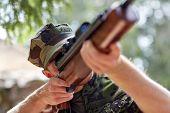 pic of hunter  - hunting - JPG