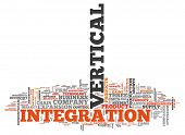 pic of upstream  - Word Cloud with Vertical Integration related tags - JPG