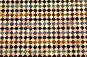 detail of ceramic walls