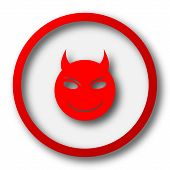 picture of maliciousness  - Evil icon - JPG