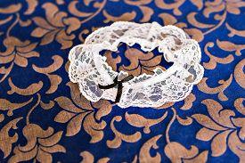 pic of garter-belt  - Beautiful wedding  bridal garter - JPG