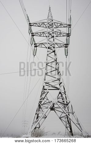 Poster: Power line column
