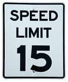 Speed Limit 15