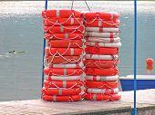 Many Life Buoys