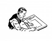 Graphic Artist - Retro Clip Art
