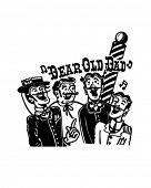 Barbershop Quartet - Retro Clip Art