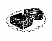Brownies - Retro Clip Art