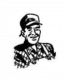 Handyman Hank - Retro Clip Art
