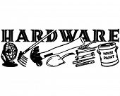 Hardware - Retro Ad Art Banner