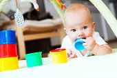 Baby Playing And Discovery poster