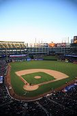 Texas Rangers Ballpark In Arlington