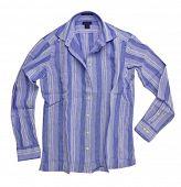 camiseta de la franja azul