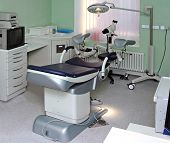 stock photo of abort  - clinic interior - JPG