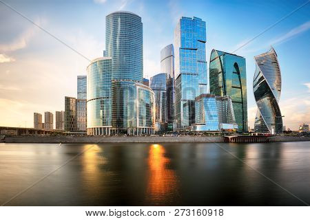 Moscow City Russia Moscow International
