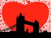 Tower Bridge With Hearts (Replacing: 2637947)