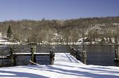 Winter Day On The Connecticut River