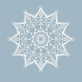 Template Laser Cut Xmas Cards Openwork Christmas Snowflake Cut Out Of Paper For Invitation Greeting  poster