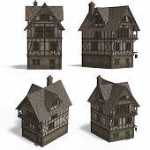 Medieval Houses - Inn poster
