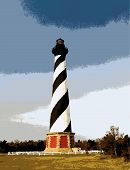 Cape Hatteras Lighthouse_Vector