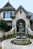 Magnificent Entryway To A Custom Home