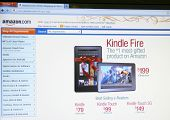 SEATTLE WA - DEC 8: Amazon's Kindle Fire, a reader tablet, will likely still be a hit despite middli