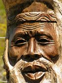 Carved Man'S Face