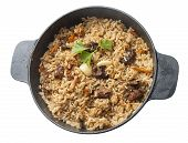 Pilau In The Stew Pan