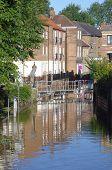 Flooded street, Skeldergate York