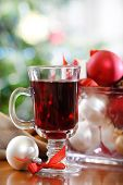 Cranberry Punch Or Red Hot Wine