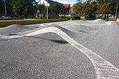 Skateboard Park In Esbjerg, Denmark